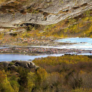 Blick Stora Rös auf Styrsö nach SE auf Donsö