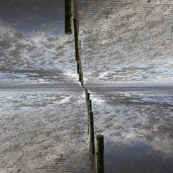 Watt südlich von Föhr, Doppelbelichtung